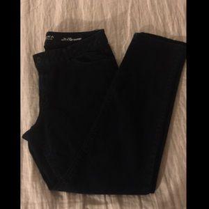 Sonoma Black Mid Rise Jeans